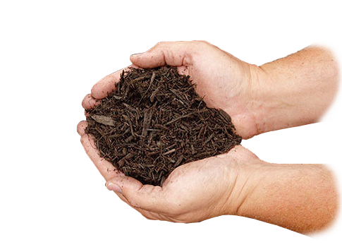 Brown Hardwood Mulch-Right-2