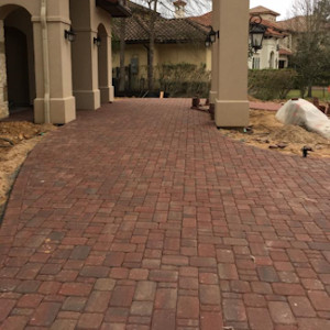 Cambridge Cobble Paver - Brazos Blend