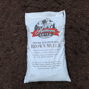 Brown Mulch The Woodlands